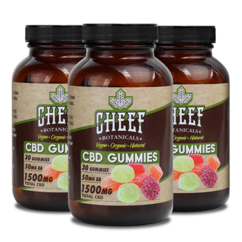 Vegan CBD Gummies by Cheef Botanicals Review